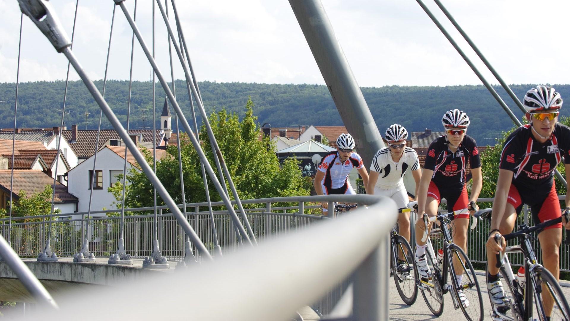 Rennradfahren im Altmühltal