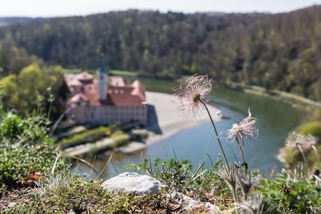 Natur genießen beim Kloster Weltenburg bei Kelheim