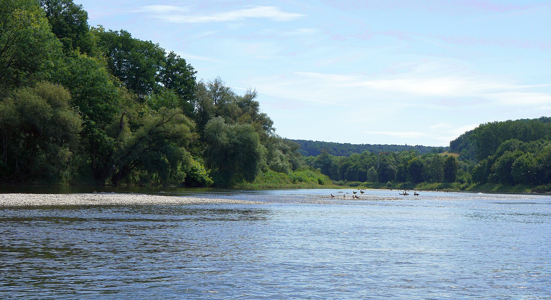 Bootswandern auf der Donau von Vohburg über Kelheim bis Bad Abbach