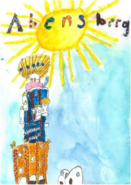 Malwettbewerb Hundertwasser, Theresa R.