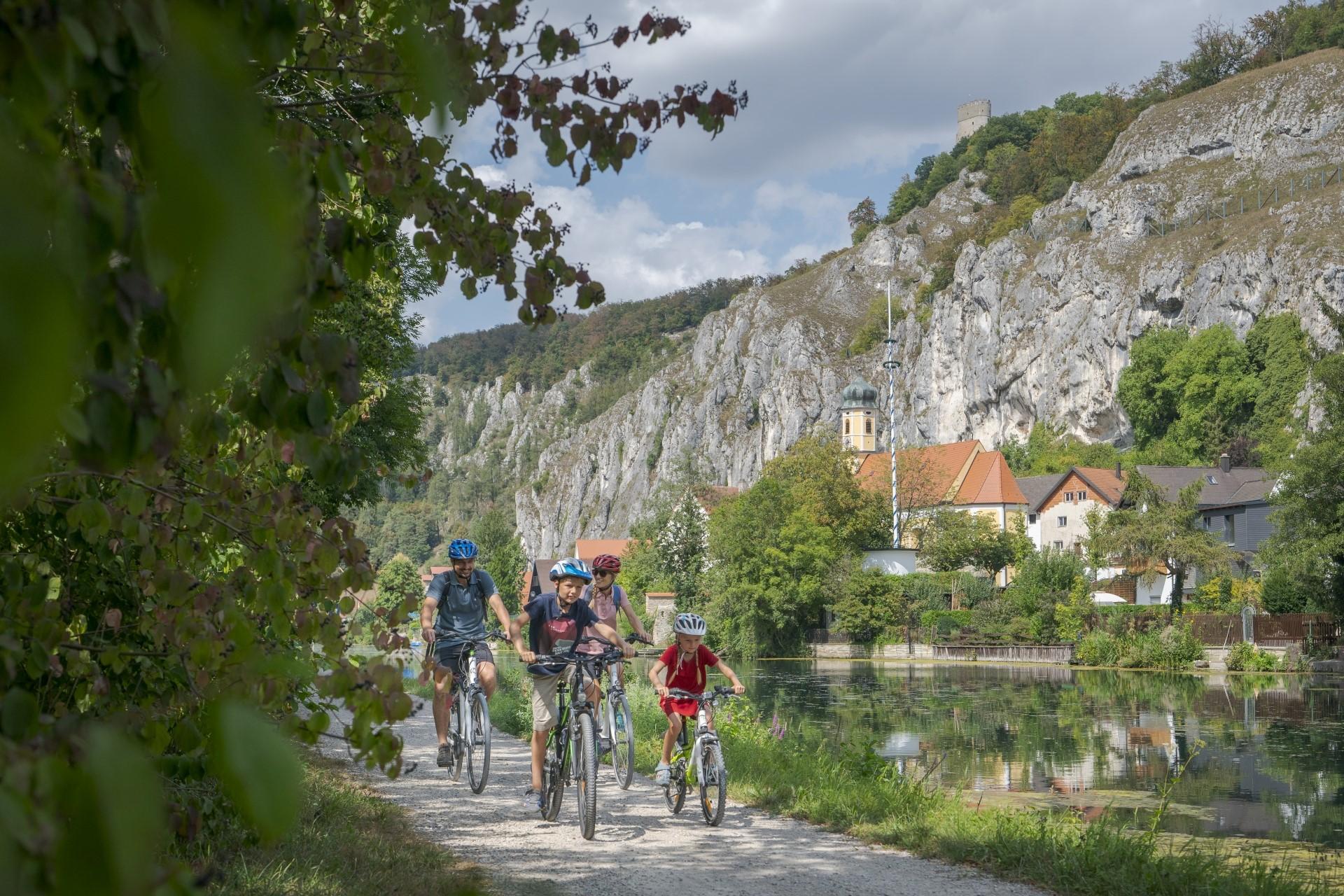 Radtour auf der Herzstück-Tour von Ingolstadt über Essing im Altmühltal