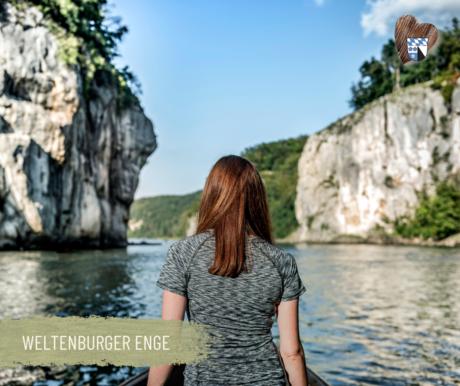 """Der Donaudurchbruch im Naturschutzgebiet """"Weltenburger Enge"""""""