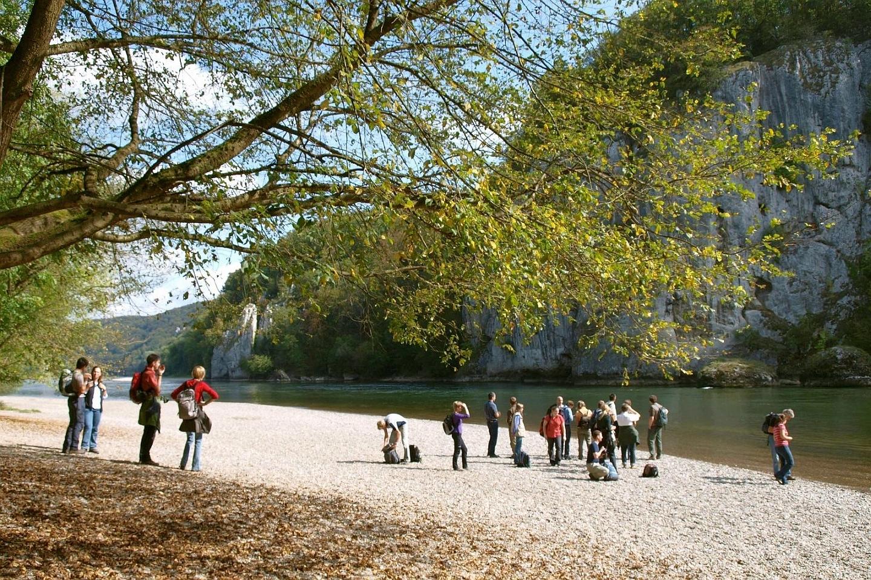 Führung durch das Naturschutzgebiet Weltenburger Enge bei Kelheim