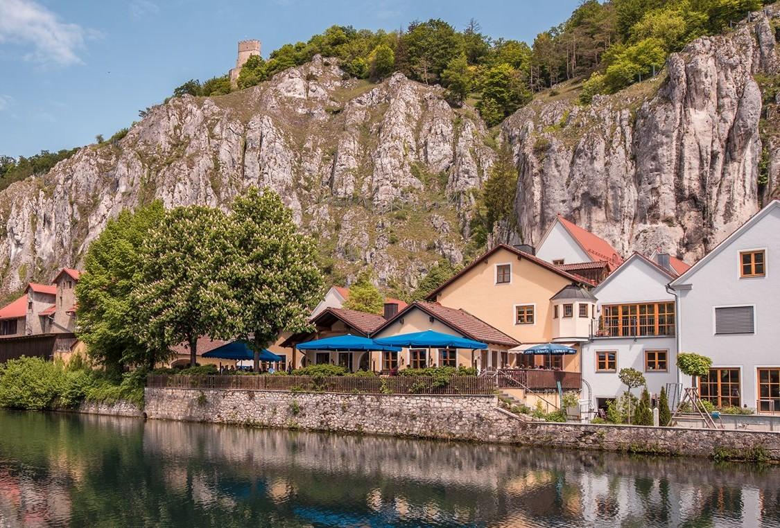Außenansicht Hotel & Brauereigasthof Schneider, Essing