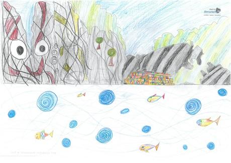 Malwettbewerb Hundertwasser, Anna-Lena K.