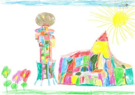 Malwettbewerb Hundertwasser, Lara W.