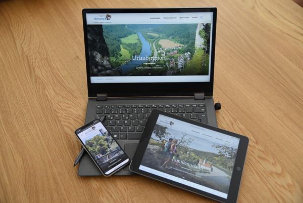 2020 PRESSEBILD Die neue Webseite des Tourismusverbands im Landkreis Kelheim ist für mobile Endgeräte optimiert