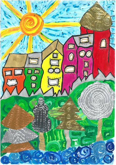 Malwettbewerb Hundertwasser, Charlotte B.