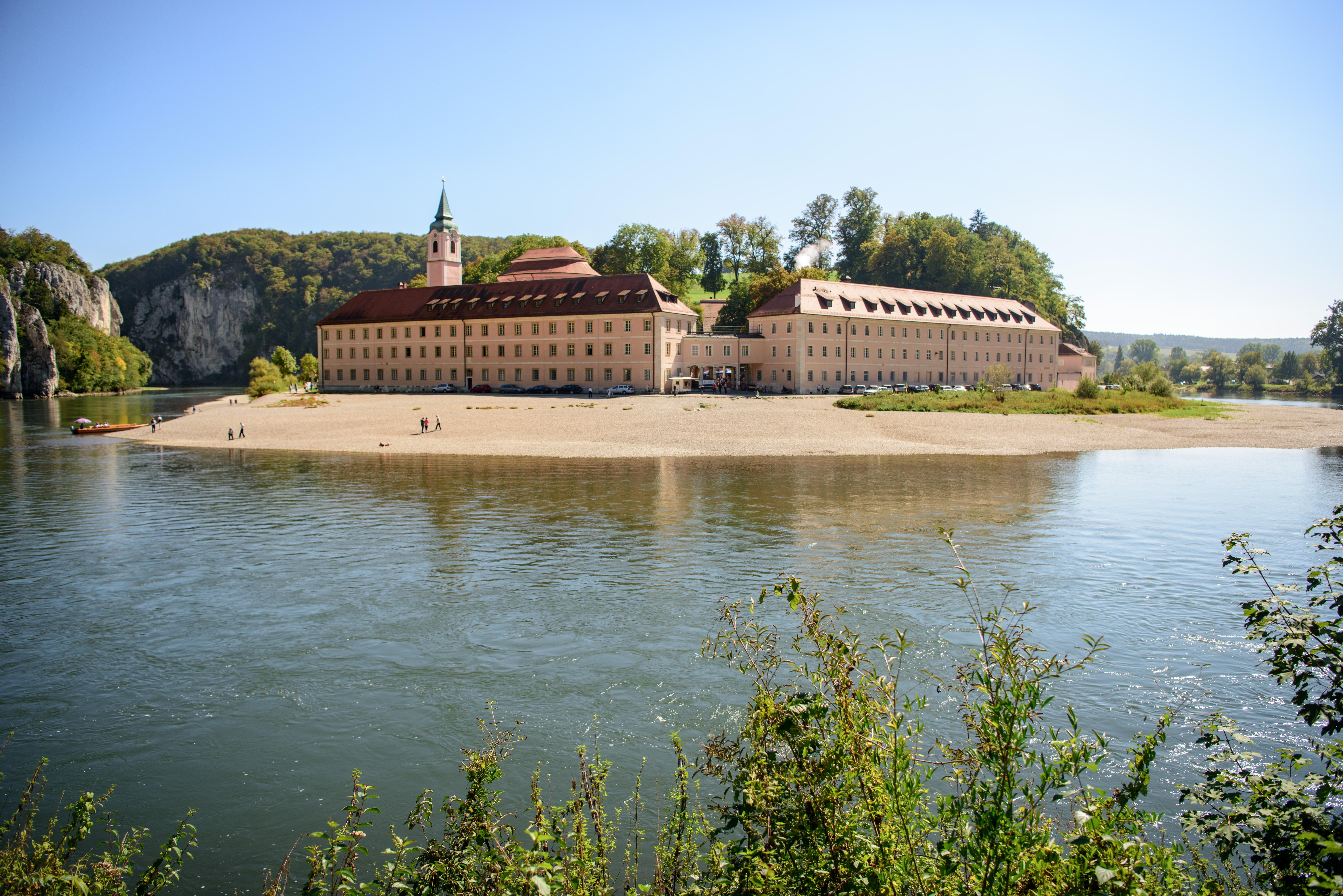 Das Kloster Weltenburg am Donaudurchbruch