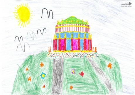 Malwettbewerb Hundertwasser, Eva P.